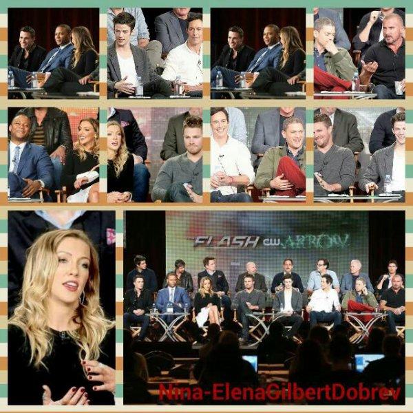 Les acteurs et producteurs d'Arrow et The Flash au Television Critics Association 2015 , le 11 janvier !