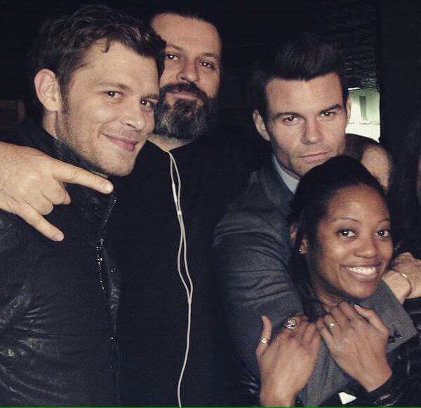 The Originals : Une photo de tournage du 2x17 avec Joseph Morgan et Daniel Gillies!
