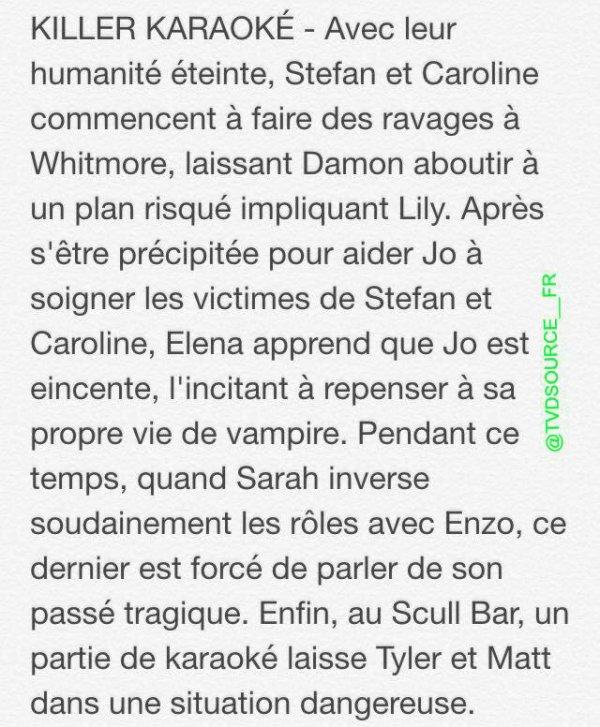 The Vampire Diaries Saison 6 : Voici le synopsis de l'épisode 18 !