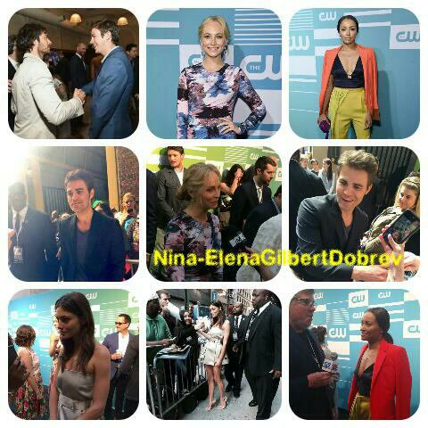 Voici les photos de la CW Upfronts 2015 , hier matin à New York