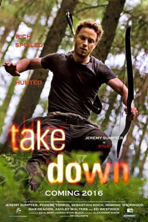 Phoebe Tonkin sur l'affiche de Take Down et deux autres posters promotionnels pour 2016 !