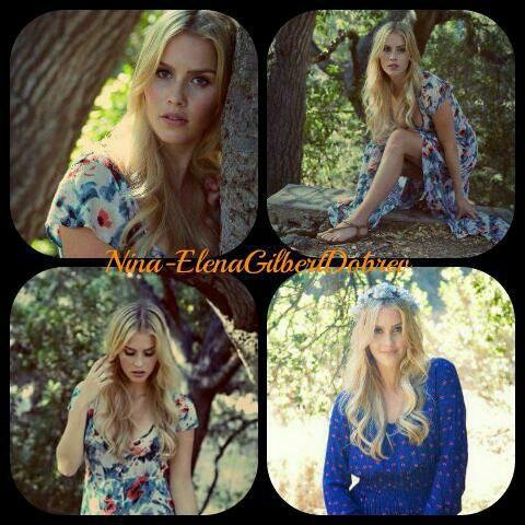 Voici d'autres photos du dernier photoshoot de Claire Holt