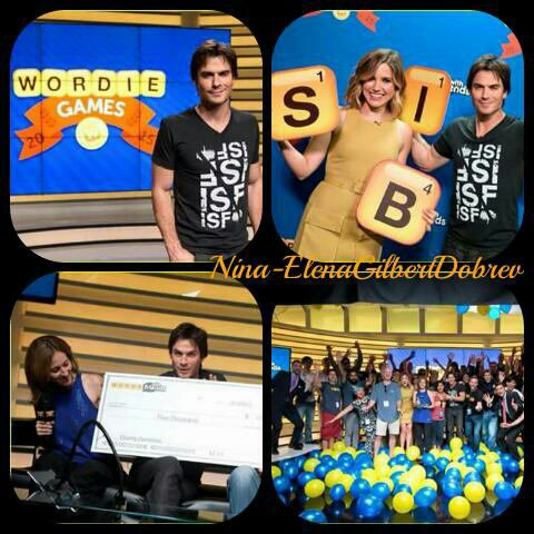 "Ian Somerhalder à l'événement ""Words with Friends"" en compagnie de Sophia Bush à Los Angeles, le 10 septembre"