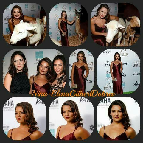 "Danielle Campbell, Ian Somerhalder et Nikki Reed au ""Heifer International's 4th Annual Beyond Hunger"" à Beverly Hills , vendredi"