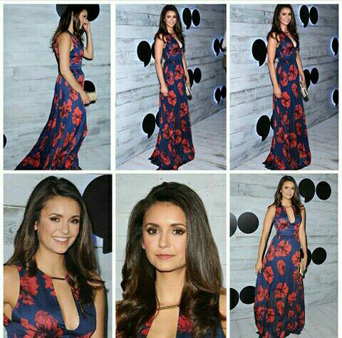 "Nina était à l'événement ""VIP Sneak Peek Of go90 Social Entertainment Platform"", Los Angeles (24/09/2015)"