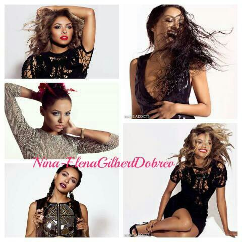 Kat Graham pour Mane Addicts