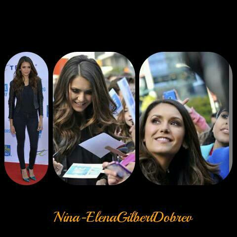 "Nina à l'événement ""We Day"" à Toronto (01/10/2015)"