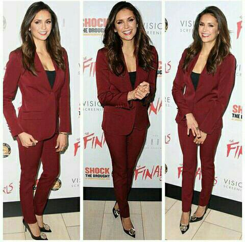 Nina Dobrev était à la première du film « The Final Girls » à Los Angeles , le 6 octobre