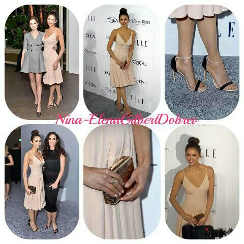 Nina Dobrev à la seconde annuel « ELLE Women In Hollywood Awards » le 19 octobre à Los Angeles