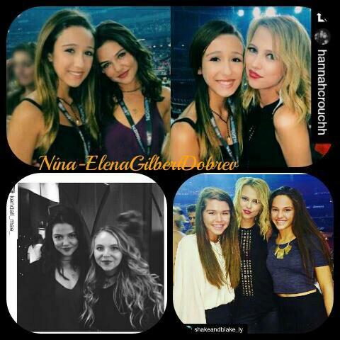 Danielle Campbell, Riley et des amis étaient avec des fans au concert de Taylor Swift , hier