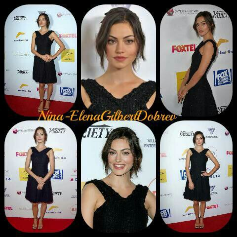 "Phoebe Tonkin au ""The 4th Annual Australians in Film Awards Benefit Dinner and Gala"" , le 25 octobre"
