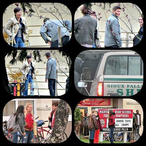 """Supernaturla : Voici des photos de tournage de l'épisode 12 de la saison 11 intitulé """" Don't Forget About Me """""""