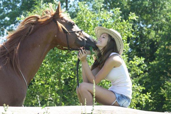 Shooting photo avec le poney