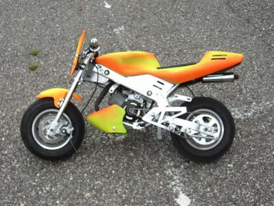 Ma Pocket Bike Le Fou Du Tuning