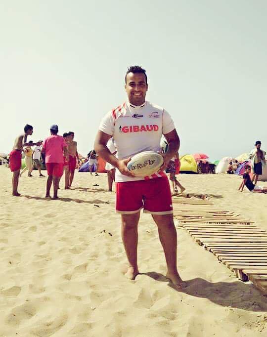 Le rugby beach