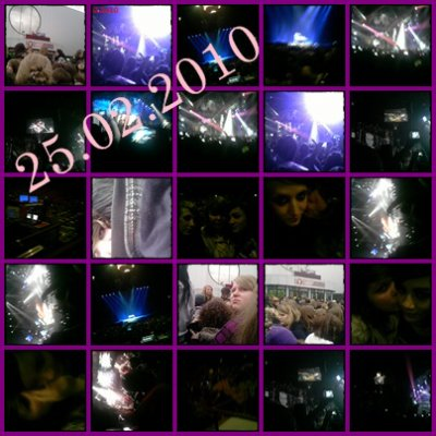 Forest National, Concert De Tokio Hotel  25.02.2o10 20h <3