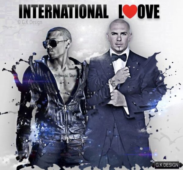 """INTERNATIONAL LOVE<3""CHRIS BROWN FT PITBULL"