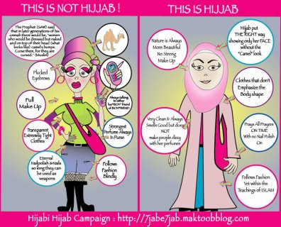 The Hijab has its characteristics !