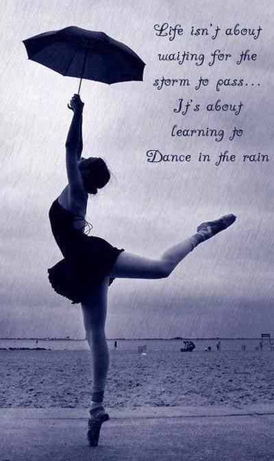 dance rain ...
