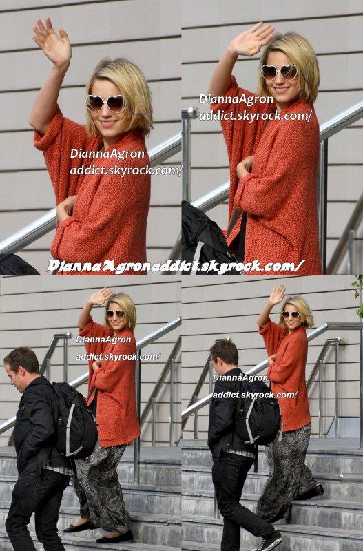 le 23 juin 2011 - Nouvelle de Diana laissant Lowry Hôtel hier.