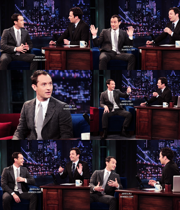 | Appearance | 30 & 31.01.2013 : Promo Side Effects (1ere NY + Jimmy Fallon + Conférence)