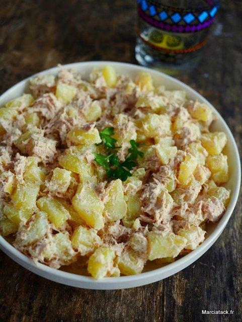 salade p.de terre au thon