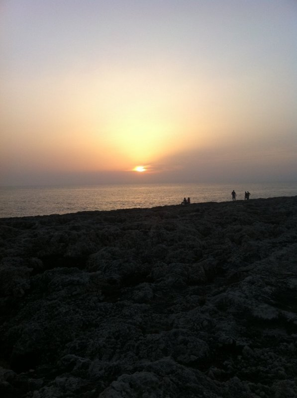 puesta de sol menorca