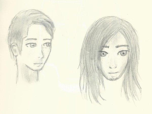 dessin de gens