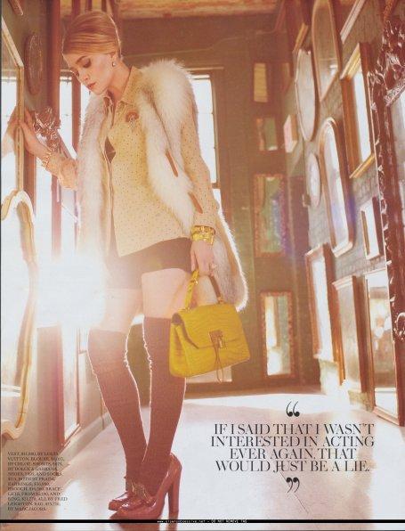Ashley Olsen pour le Fashion magasine, Septembre 2010