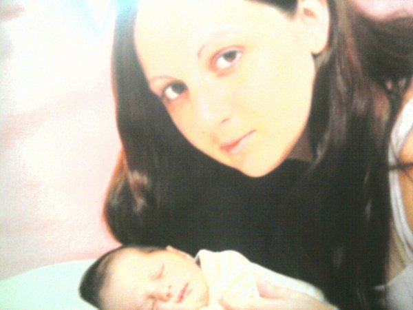 moi et ma fille ala materniter