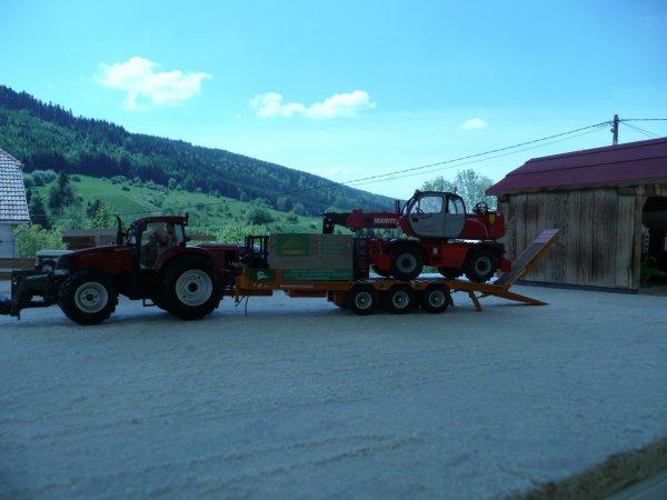 le montage des ferme