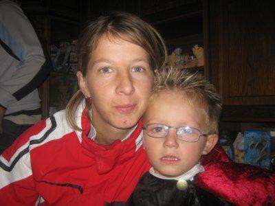 ma soeur et mon neuveu brandon