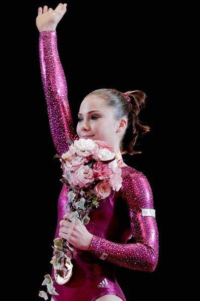 Suis l'actualité de la jeune gymnaste américaine McKayla Maroney