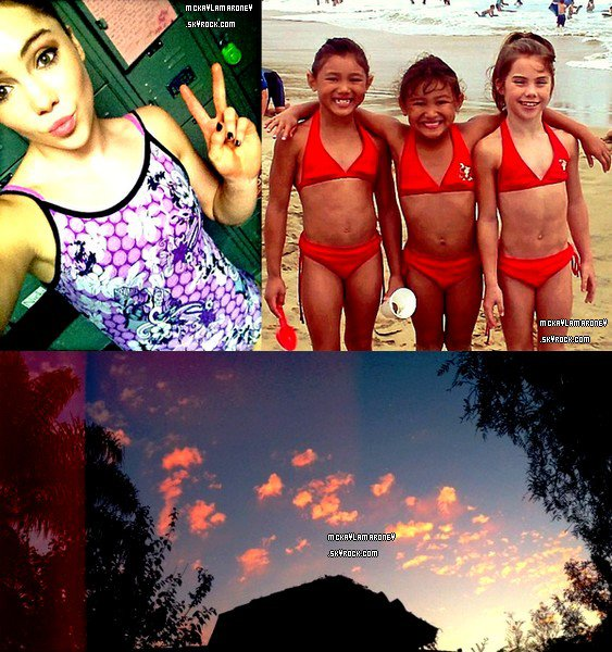 Photos personnelles de McKayla.
