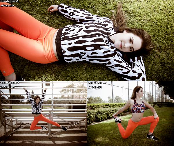 De nouvelles photos de McKayla avec Adidas ont été mises en ligne.