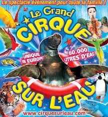 Le cirque sur l'eau a Brioude!
