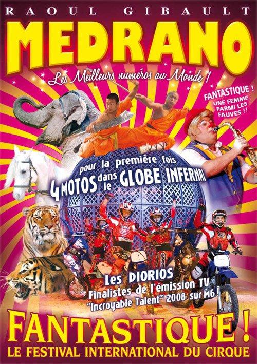 Cirque Medrano A Lomme sur le parking carreffour ikea!