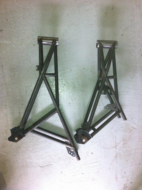 Deux versions du chassis!