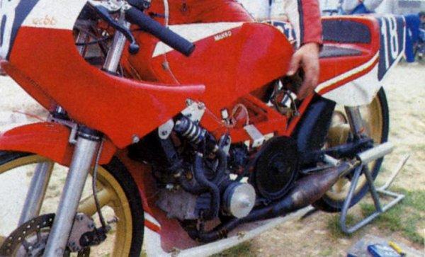 Mon moteur Kreidler.