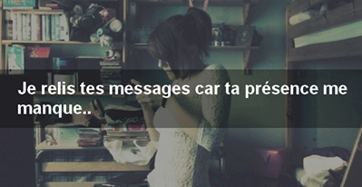 Relire tes messages♥