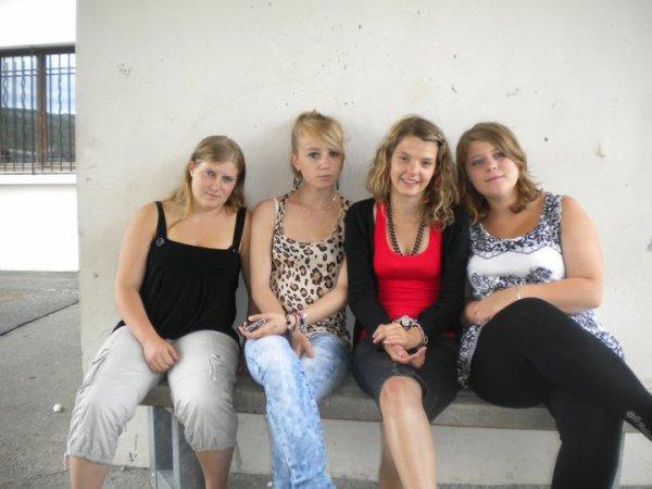 moi et des amies