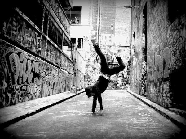 break dance !