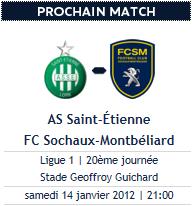 Saint-Etienne - Sochaux