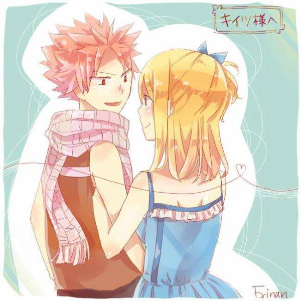 Lucy et Natsu