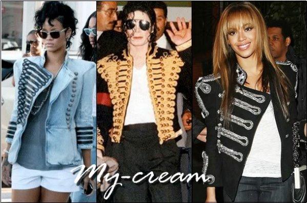 MICHAEL JACKSON's jacket.