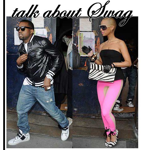 Swag means : [ apperance , style or the way he or she presents them selves ]