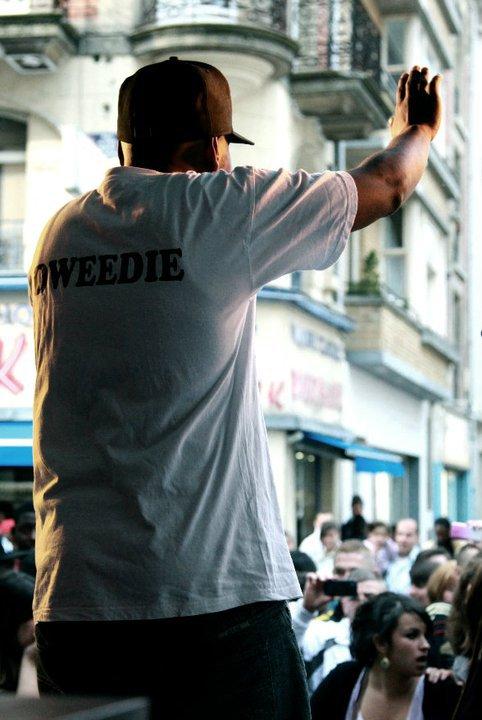 """DWEEDIE & ESPRIT FREESTYLE EN CONCERT POUR """"LA FETE DE LA MUSIQUE"""" DE LILLE CE 21 JUIN 2011"""