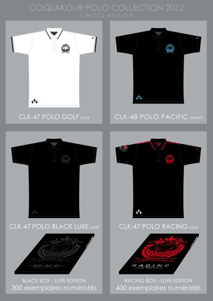 Polos Coqlakour - Collection 2012 - Edition limitée
