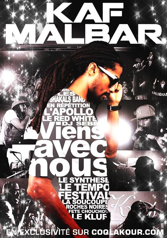 "ATTENTION ""VIENS AVEC NOUS "" 70 MIN EXCLUSIVES avecKaf Malbar ( Page Officielle ) BIENTOT DISPONIBLE A SUIVRE ..BY COQLAKOUR !"