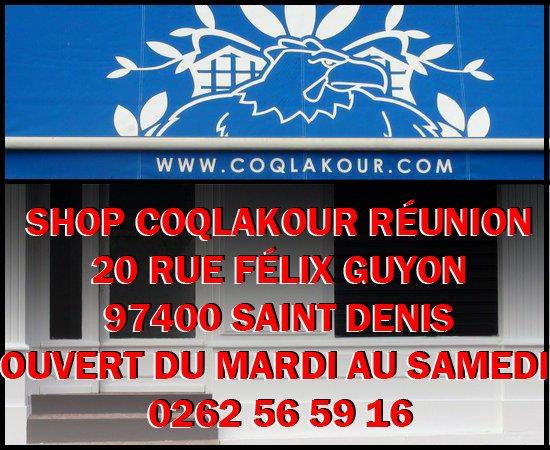 SHOP COQLAKOUR REUNION